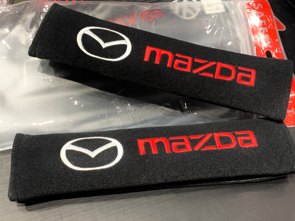 Mazda - Seat Belt Cover Protectors Shoulder Pad
