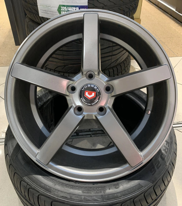 "bR 17"" Alloy Wheel Replica 17x7 5x114.3 ——CV"