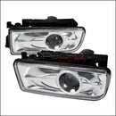 PROJECTOR FOG LIGHTS FOR 1992-1998 BMW E36 3 SERIES CLEAR