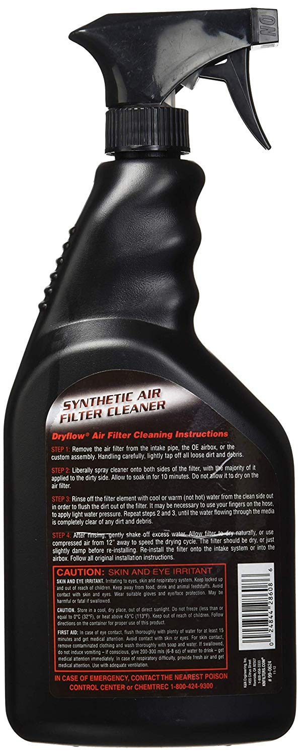 K&N 99-0624 Synthetic Air Filter Cleaner Spray - 32 oz.