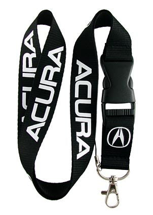 Acura Lanyard (Black with white logo)
