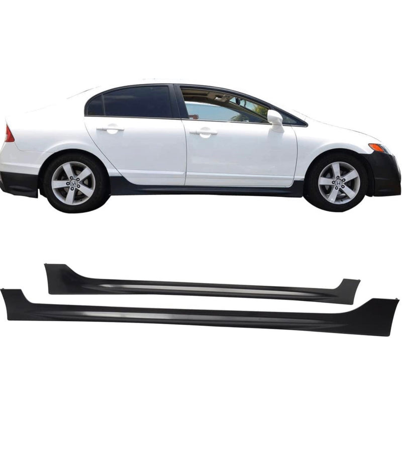 Side Skirt 2006-2011 Honda Civic 4 door Mugen RR Style