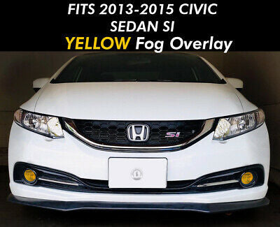 Fog light OEM Style for Honda 2013-2015 Civic 4DR Sedan Only