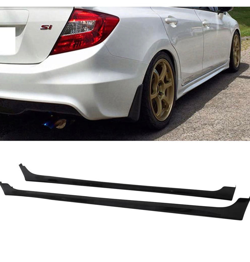 Side Skirt 2012-2015 Honda Civic 4 door Mugen RR Style