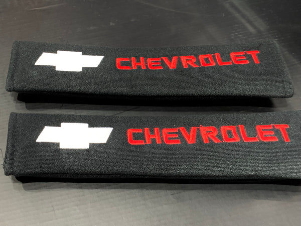 Chevrolet - Seat Belt Cover Protectors Shoulder Pad