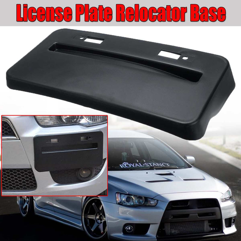 bR License Plate Mounting Kit License Plate re-locator for 2008-2017 Mitsubishi Lancer