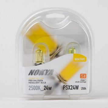 Nokya Hyper Yellow PXS24W/2504 Light Bulbs 2500K 24W (Stage 1)