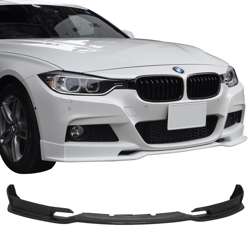 2012-2018 BMW 3 Series F30 M-Tech style Front Bumper Lip