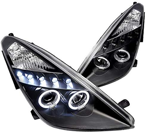 Headlight Housing Kit Dual Projector LED Kit 2000-2005 Toyota Celica