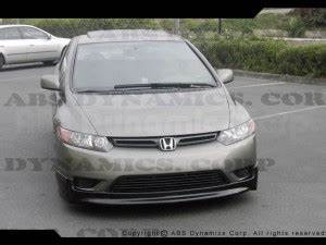 2006-2008 Honda Civic 2door Mugen style Front Bumper Lip