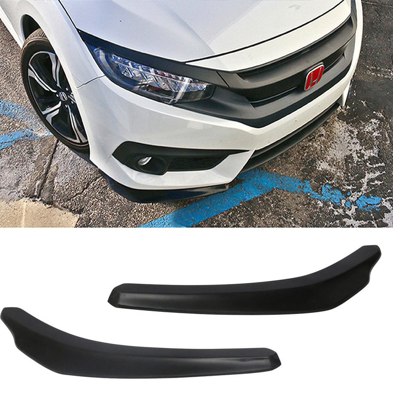 Universal Front Bumper Lip Splitter Add On 2 PC