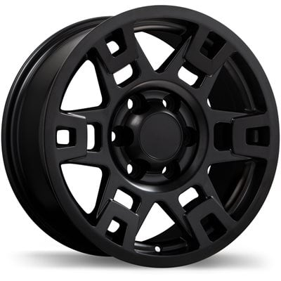 "17"" Alloy Wheel 17x8 6x139.7 +5 TRD Style Toyota 4Runner Tacoma Stain Black"