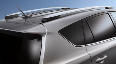 Roof Rails OE Style fits 2013-2018 Toyota RAV4 Roof Rack Side Rails Crossbar OE Style Silver