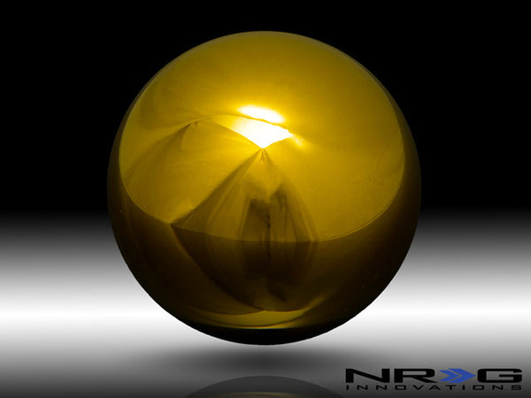 NRG Shift Knob Ball Chrome Gold #Heavy Weight 480g- Universal