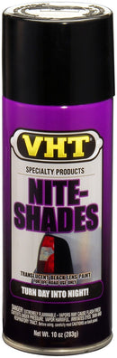 VHT Nite-Shades Lens Cover Tint Translucent Black Paint Can SP999 - 10 oz.