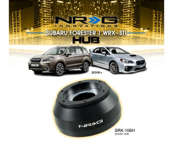 NRG Steering Wheel Hub Adapter Kit 2015+Subaru Forester / 2015 Subaru WRX / 2010+ Legacy#SRK-106H