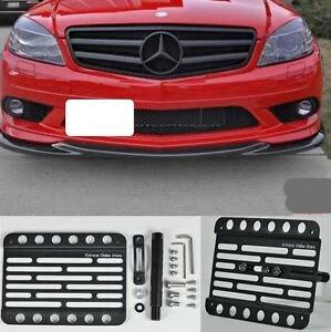 bR License Plate Mounting Kit License Plate re-locator for Mercedes 2015-2019 C-class W205