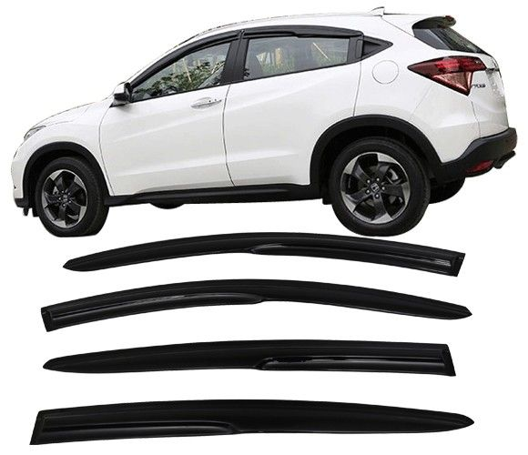 Window Visor Deflector Rain Guard  2015-2020 Honda HRV HR-V Mugen Style