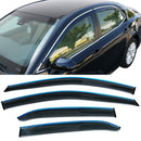 Window Visor Deflector Rain Guard 2018-2020 Toyota Camry w/ Chrome Trim