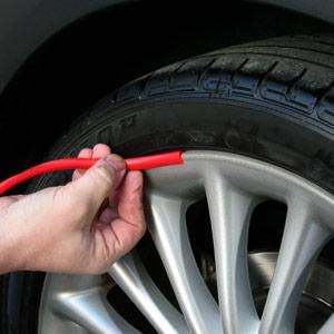 Wheel Rim Protector Tire Rim Trim Guard Line Rubber Moulding up to 22""