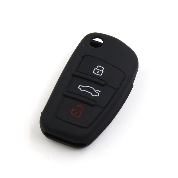 Audi Key Fob Silicone Rubber Cover Key Protector for Audi