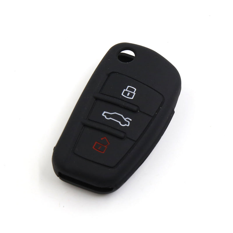 Key Fob Silicone Rubber Cover Key Protector for Volkswagen