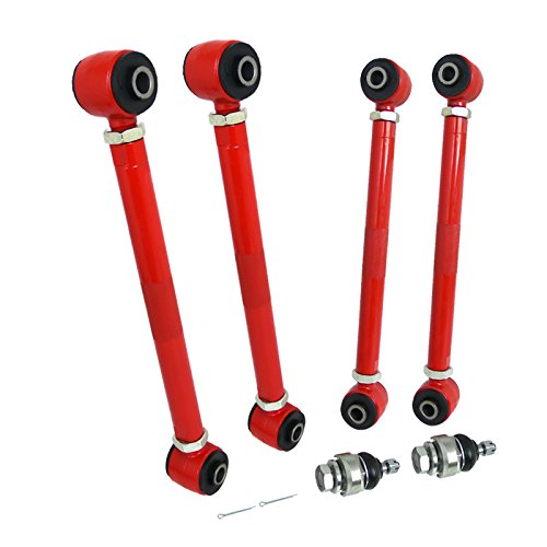 Camber Kit (6 Piece Front And Rear Red) for 2003-2007 Honda Accord
