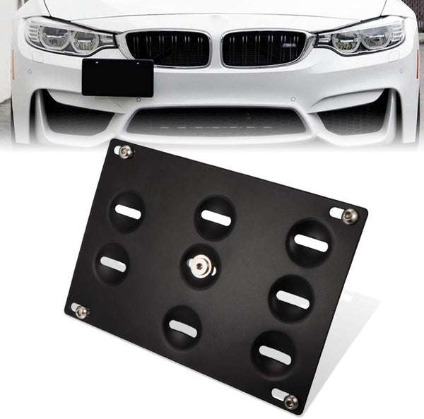Copy of bR License Plate Mounting Kit License Plate re-locator for BMW 1995-2011 3 Series 5 series 7 series X5 X6 E46 E39 E90 E92 E93 E70