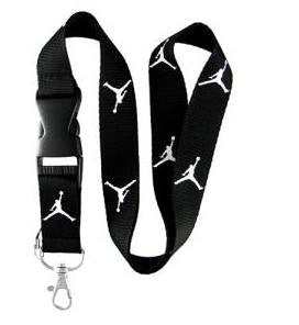 Jordan Lanyard (Black with white logo)