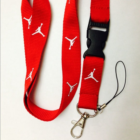 Jordan Lanyard (Red with white logo)