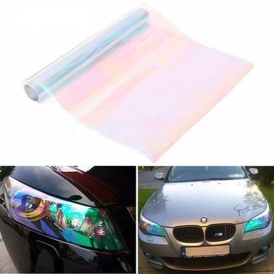 Roll Headlight Tail light Tint Vinyl Film Tail Light Overlays- Neo Multi Colour 12 inch x 48 inch ( 30cm x 120 cm)