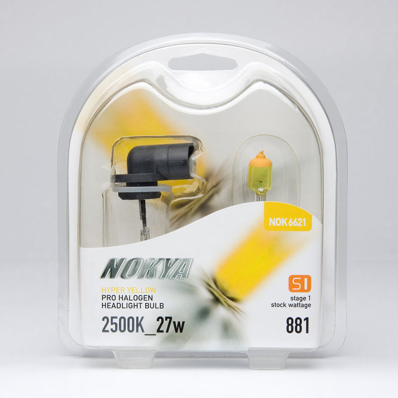 Nokya Hyper Yellow 881 Light Bulbs 2500K 27W (Stage 1)