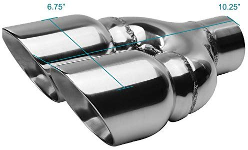 Exhaust Tip Dual Style (- 3.5 Outlet)