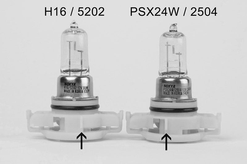 Nokya Arctic White PXS24W/2504 Light Bulbs 7000K 24W (Stage 1)