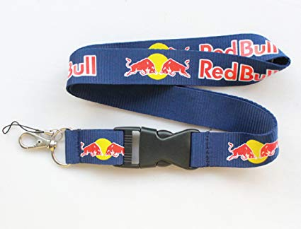 RedBull Lanyard (Blue with Red and yellow logo)