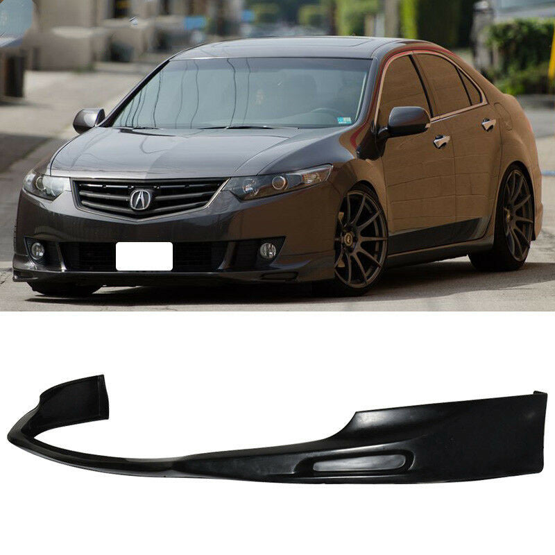 2009-2011 Acura TSX JDM Type S style Front Bumper Lip