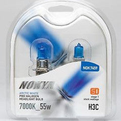 Nokya Arctic White H3C Light Bulbs 7000K 55W (Stage 1)