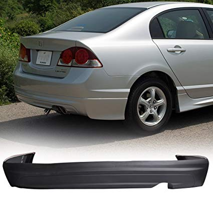 2006-2011 Honda Civic 4door Sedan Mugen style Rear Bumper Lip