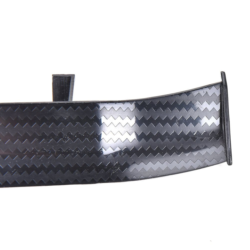 1 Pcs Mini Spoiler Auto Car Trunk Decoration Spoiler Wing Carbon Fiber Wrap