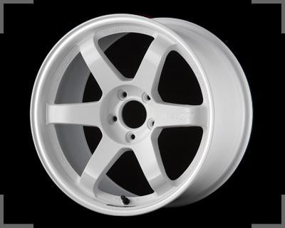 "bR 17"" Alloy Wheel Replica 17x7.5 5x114.3 +45 TE37 Style White / Matt Black / Bronze / Gun Mental / Dark Gun Mental/ Silver"
