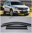 Window Visor Deflector Rain Guard 2007-2015 Volkswagen Tiguan