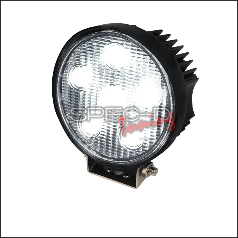 UNIVERSAL 6-LED ROUND WORK LIGHTS