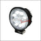 UNIVERSAL 9 LED BLACK WORK LIGHT ROUND