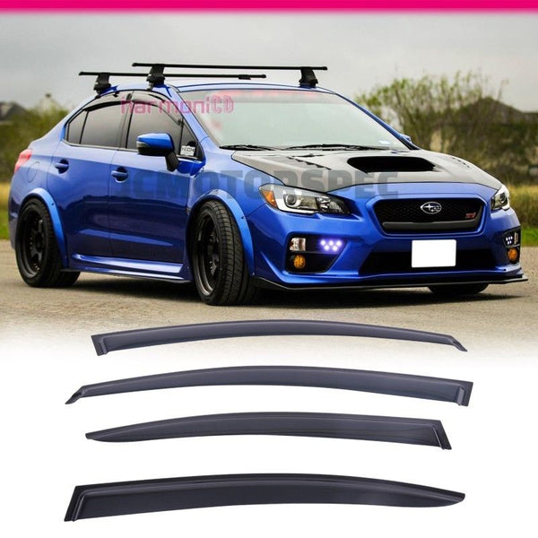 Window Visor Deflector Rain Guard 2015-2019 Subaru Impreza Sedan 4DOOR Sedan