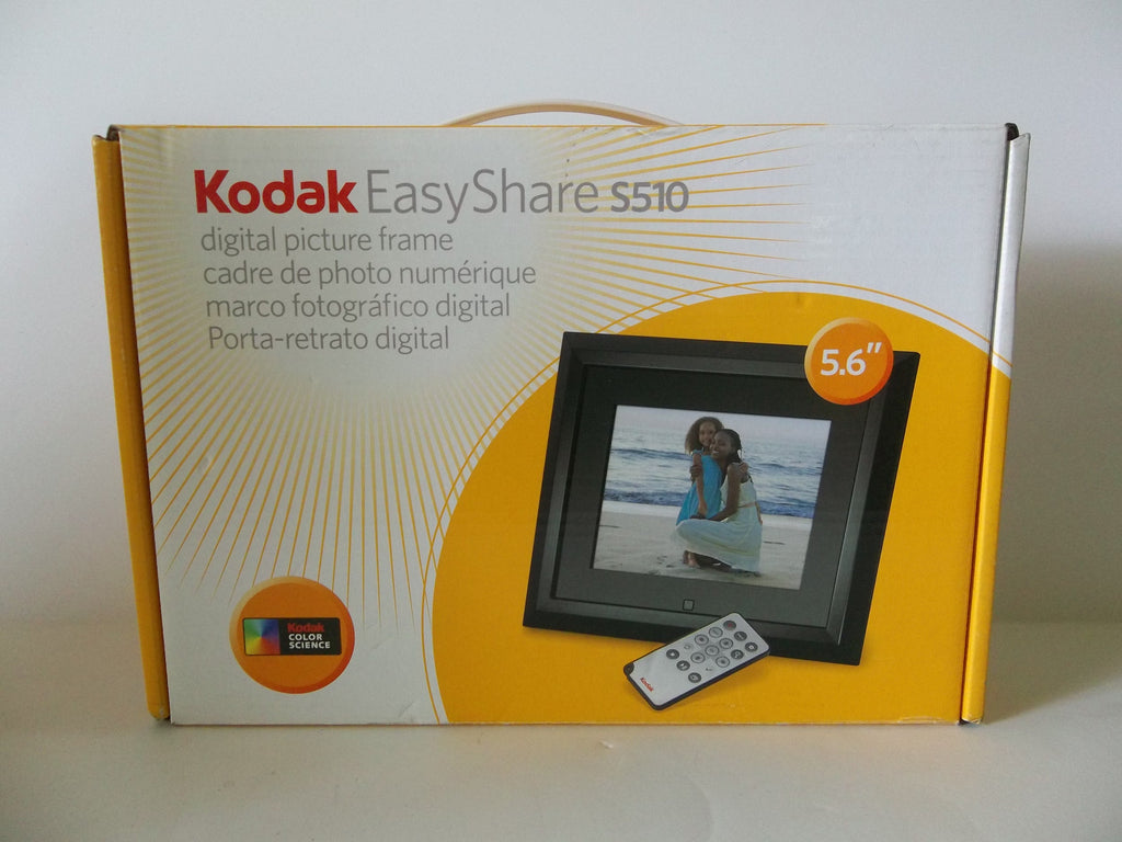 Kodak easyshare s5101 56 inch digital picture frame new kodak easyshare s5101 56 inch digital picture frame jeuxipadfo Image collections