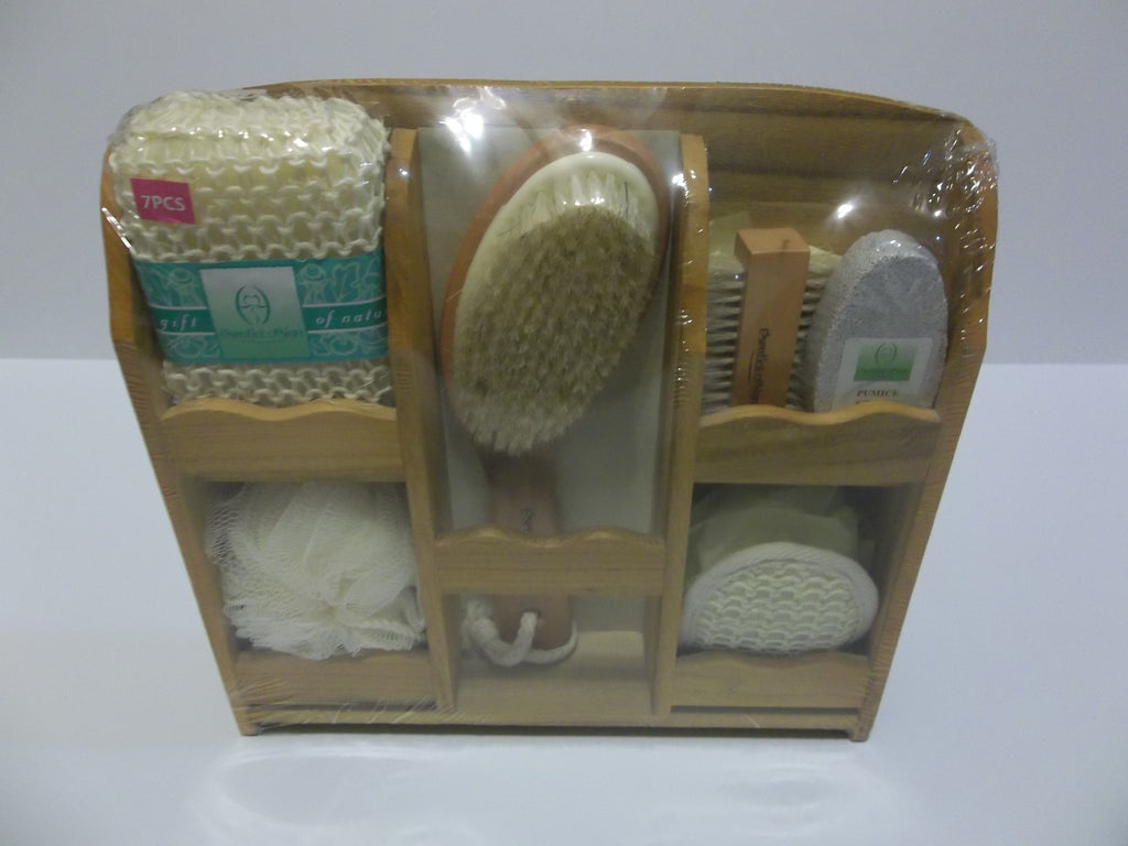 7 Piece Essential Design Gift Bath Set New Vintage2nu