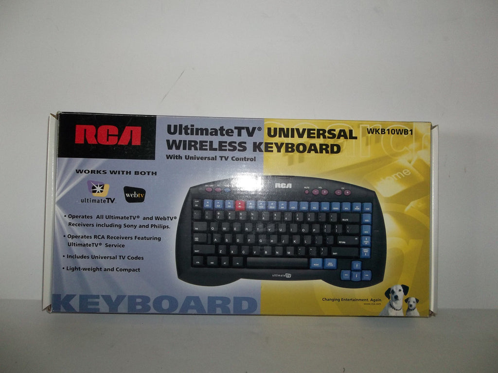 RCA WKB10WB1 UltimateTV-WebTV Infrared Wireless Keyboard -- Used ...