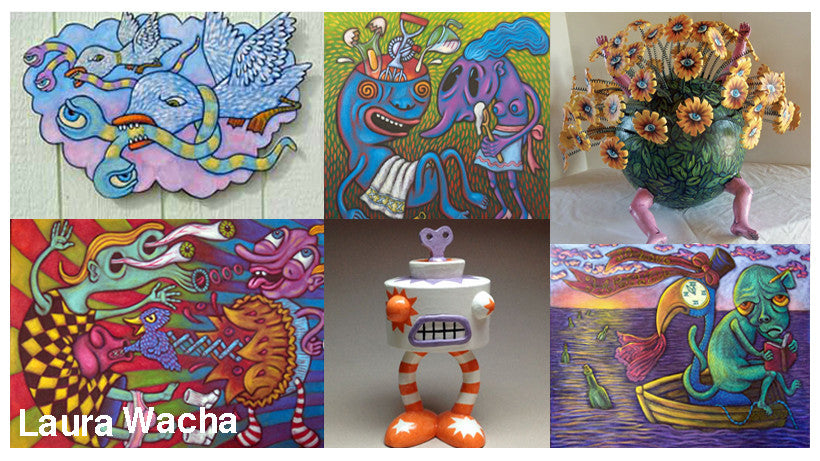 May Events: ARTScrawl with Laura Wacha, WILD! Exhibition, & More!