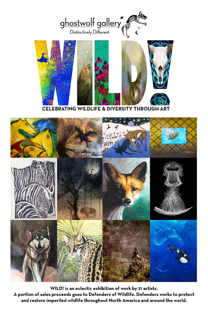 WILD!: Celebrating Wildlife & Diversity Through Art Opens May 20th (2-4pm)