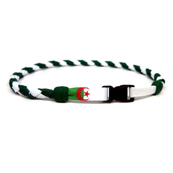 Algeria Soccer Necklace - Swannys